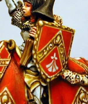 Recueil des plus hauts faits de peinture bretonnienne. LRepanseSchilddetail